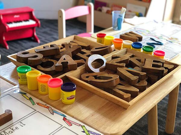 Joyland Preschool classroom curriculum